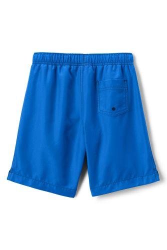 Lands' End - Little Boys' Plain Swim Shorts - 2