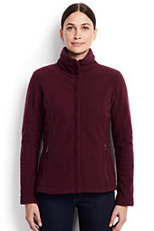 Women's 200 Fleece Jacket-Merlot