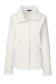 Ivory Fleece Jacket