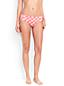 Women's Costa D'Oro Mid Waist Geo Print Bikini Bottoms