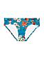 Women's Costa D'Oro Mid Waist Floral Print Bikini Bottoms