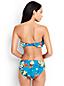 Costa d'Oro Bandeau-Bikinitop mit Volant Prärierose