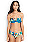 Women's Regular Costa D'Oro Ruffle Bandeau Bikini Top