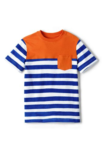 Toddler Boys' Stripe/Colourblock T-shirt