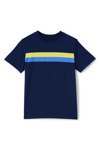 Little Boys' Chest Stripe Tee