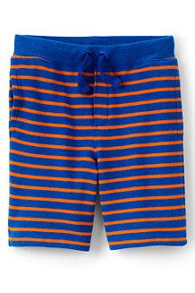 Boys' Stripe Loopback Jersey Shorts