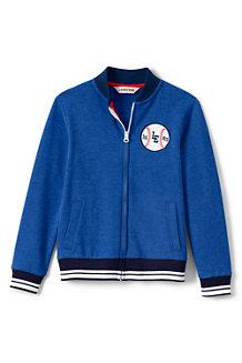 Boys' Jersey Baseball Jacket