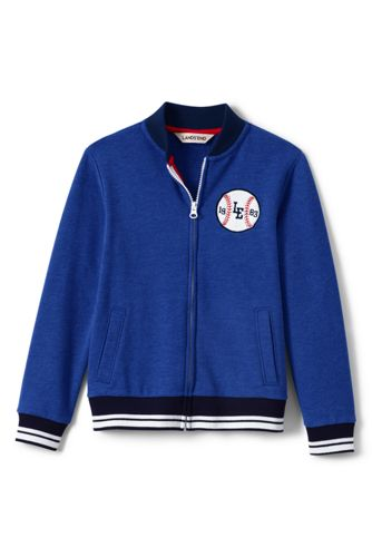 Little Boys' Jersey Baseball Jacket
