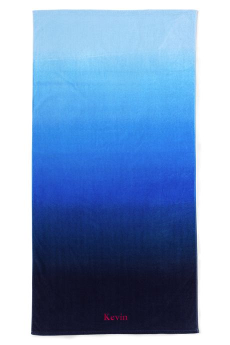 Adult Printed Velour Beach Towel