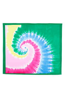 Printed Velour Beach Blanket, Front
