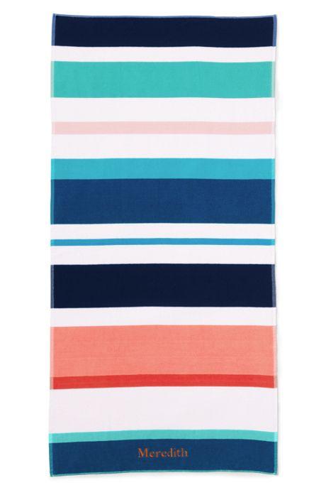 Adult Stripe Beach Towel