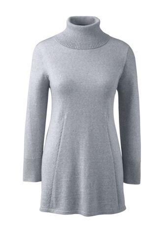 Women's Regular Merino Rollneck Tunic