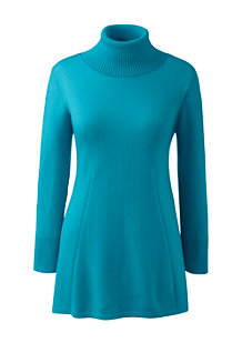 Women's Merino Rollneck Tunic