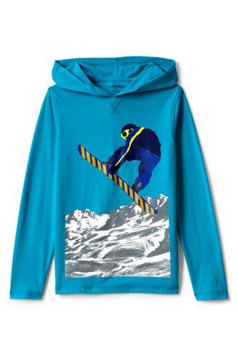 Kapuzenshirt mit Winter-Print für kleine Jungen