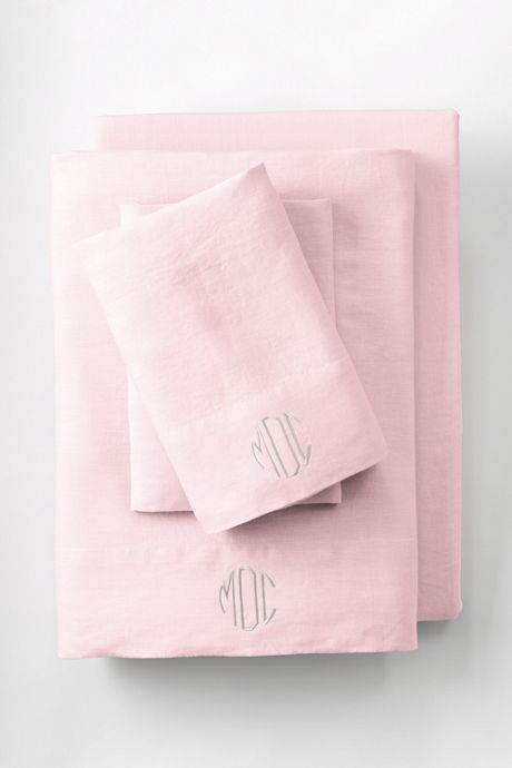 Garment Washed Linen Pillowcase