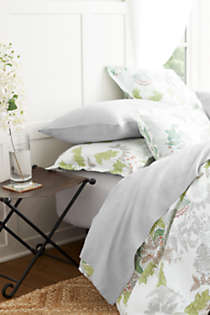 Garment Washed Linen Solid Sheets, alternative image
