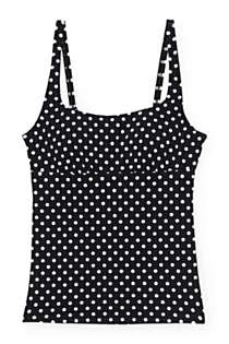 Women's Underwire Square Neck Tankini Top, Front