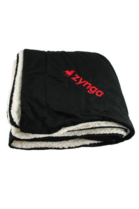 Sherpa Throw Blanket