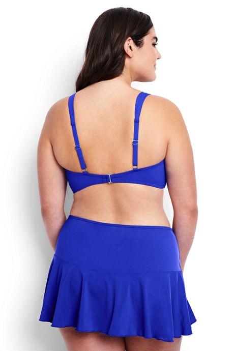 Women's Plus Size Underwire Sweetheart Bikini Top