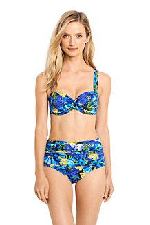 Women's Beach Living Sweetheart Floral Bikini Top