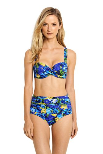 Women's Regular Beach Living Sweetheart Floral Bikini Top