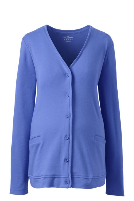 Women Maternity V-neck Pocket Cardigan