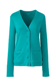 School Uniform Women's V-neck Pocket Cardigan