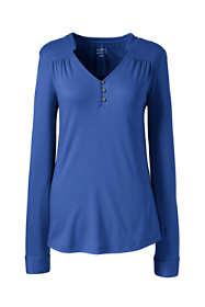 Women's Supima Micro Modal Shirred V-neck Top