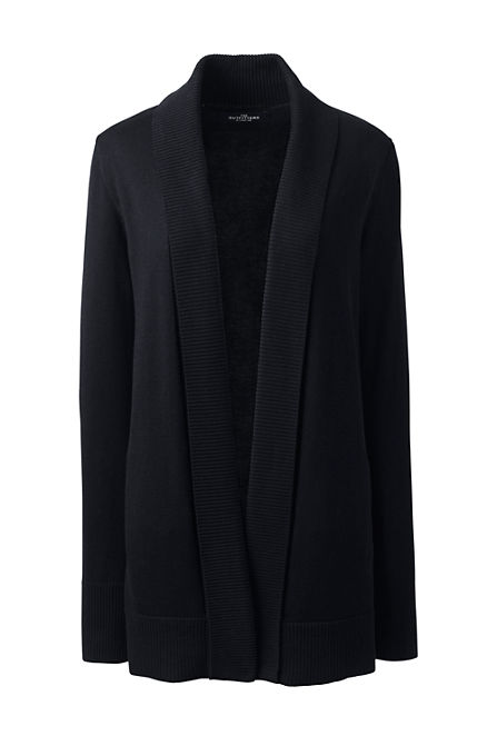 - Women's Cotton Modal Shawl Collar Cardigan