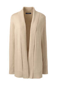 Women's Cotton Modal Shawl Collar Cardigan Sweater