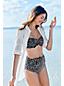 Women's Regular Beach Living Sweetheart Scatter Dots Bikini Top