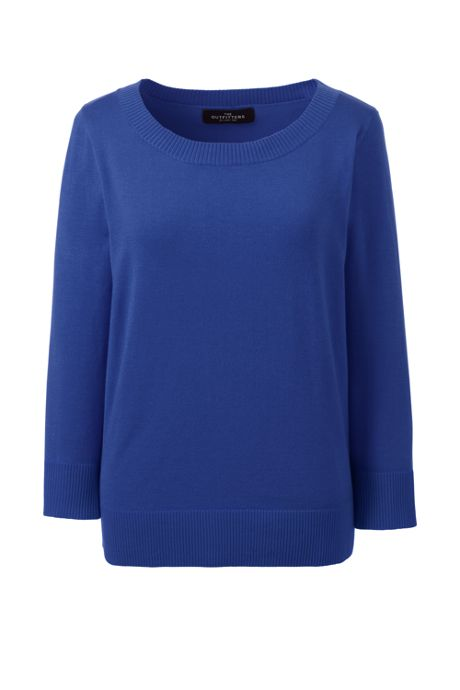 Women's Performance 3/4 Sleeve Scoop Sweater