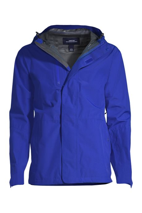Men's Big Waterproof Rain Jacket