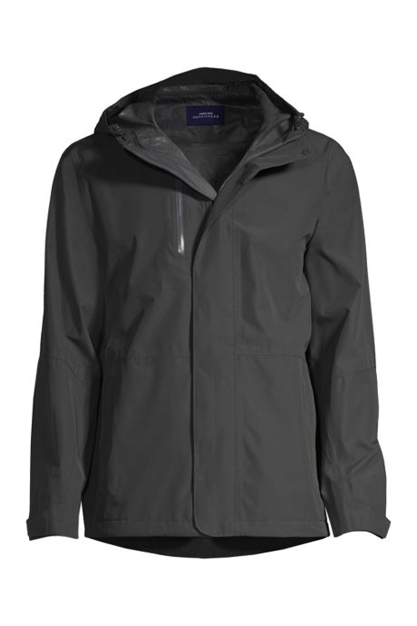 Men's Custom Embroidered Waterproof Rain Jacket