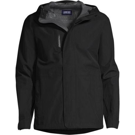 Men's Custom Embroidered Waterproof Rain Jacket