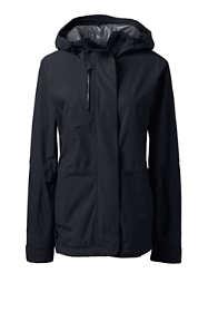 Women's Plus Size Waterproof Rain Jacket