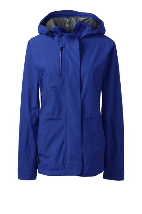 Women's Custom Embroidered Waterproof Rain Jacket