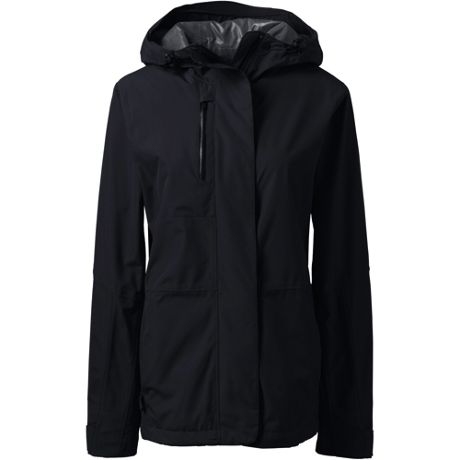 Women's Custom Embroidered Waterproof Rain Jacket