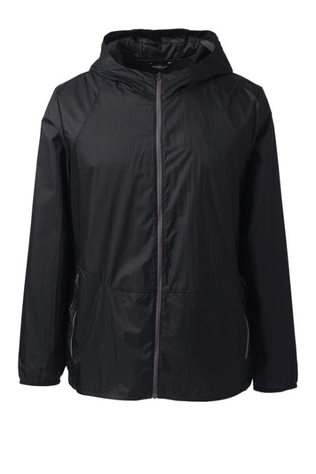 Men's Big Packable Nylon Jacket