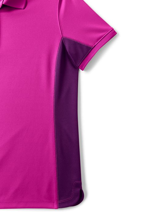 Women's Side Colorblock Active Polo shirt