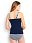 Women's DD-Cup Beach Living Squareneck Floral Medallion Tankini Top