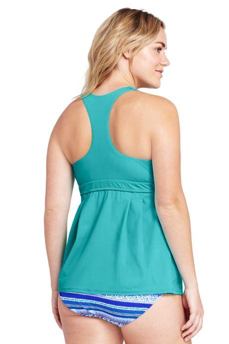 Women's Plus Size Swing Tankini Top