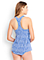 Women's D-Cup Beach Living Swing Paisley Tankini