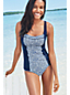 Women's Regular Beach Living Sweetheart Medallion Print Tankini Top