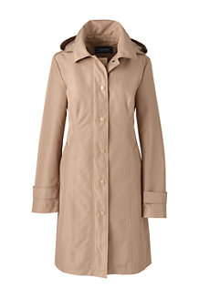 Women's Coastal Long Rain Coat