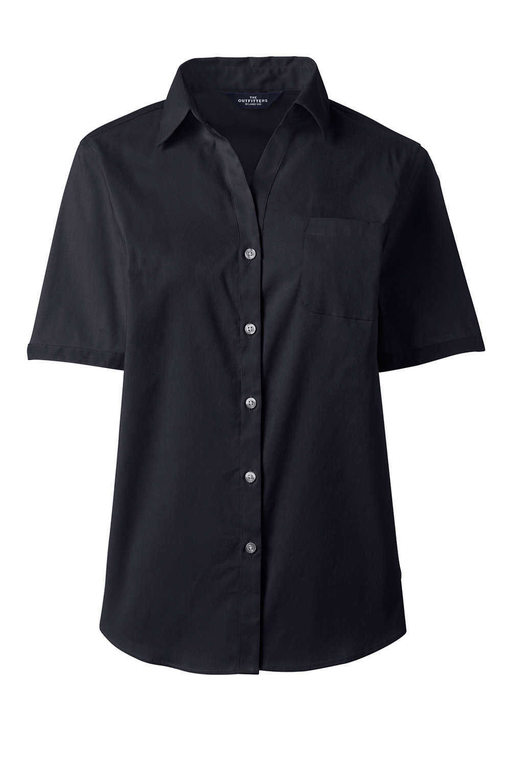 5ddd22a9 Women's Short Sleeve Stretch Shirt With Pocket from Lands' End