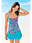 Women's Regular Beach Living Bandeau Paisley Halterneck Tankini Top