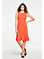Women's Flutter Hem Dress