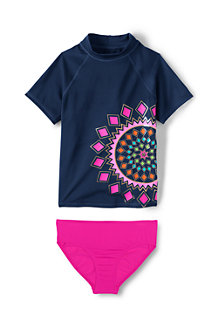 Girls' Rashguard Set