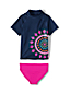 L'Ensemble T-Shirt et Slip de Bain Graphique, Petite Fille